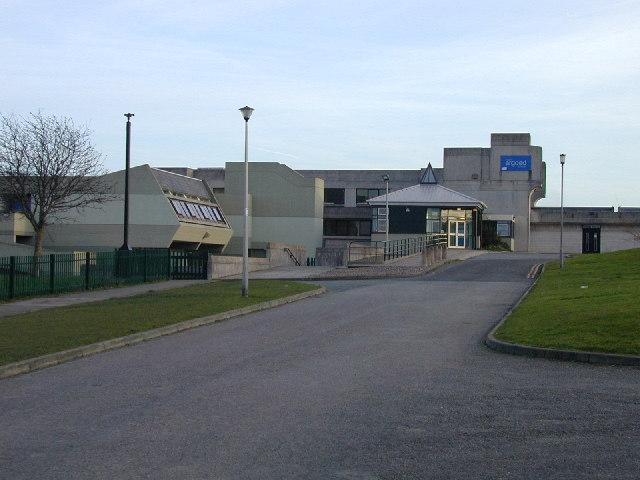 Argoed High School - location of Mynydd Isa & Maeshafn CC winter nets